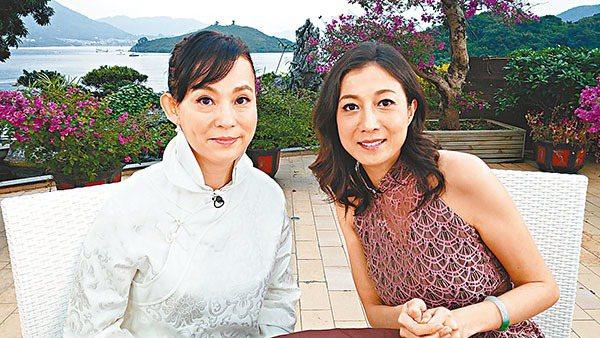 翁靜晶曾上吳綺莉的節目接受訪問。圖/摘自文匯報
