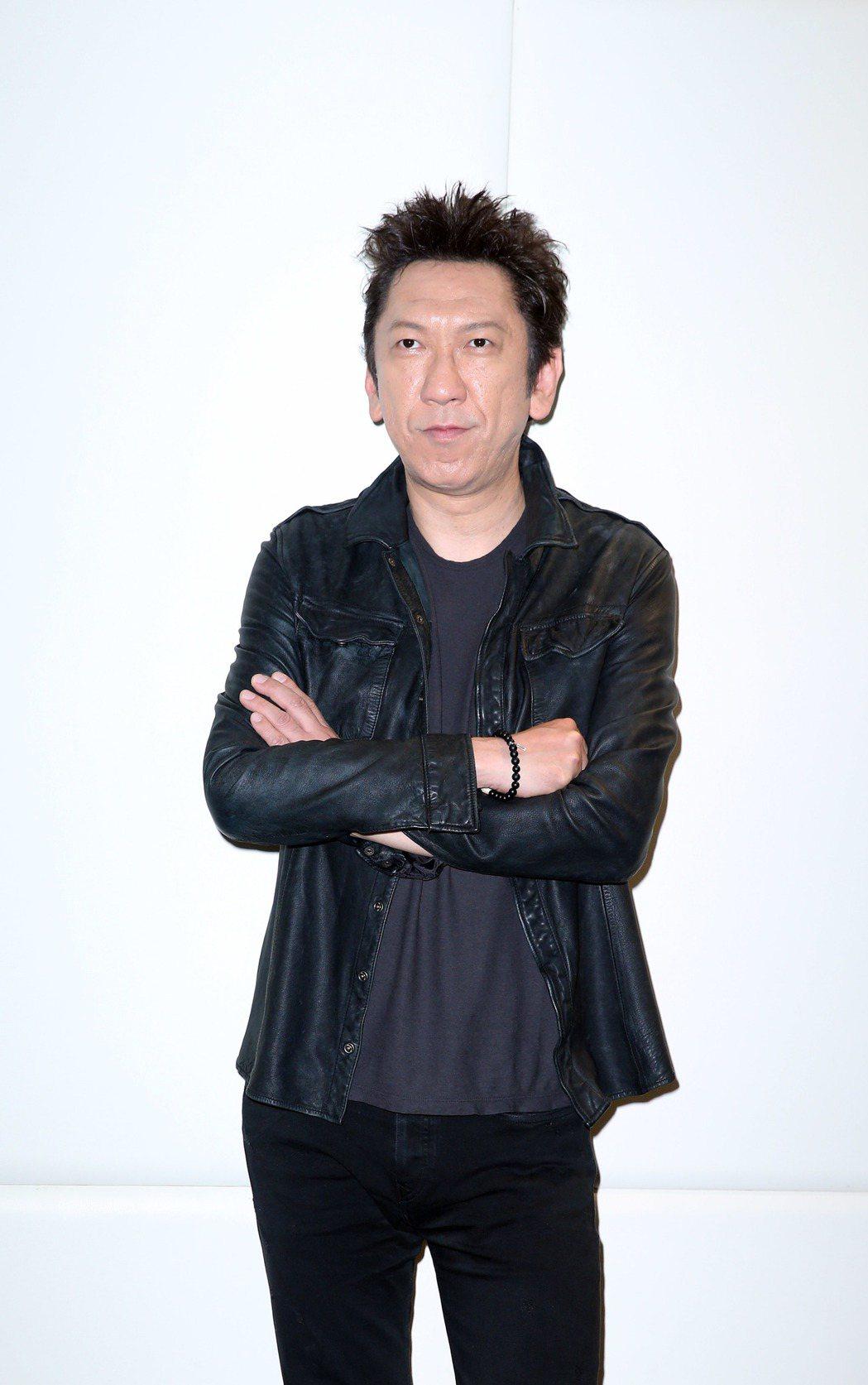 日本傳奇吉他歌手布袋寅泰來台。記者陳瑞源/攝影