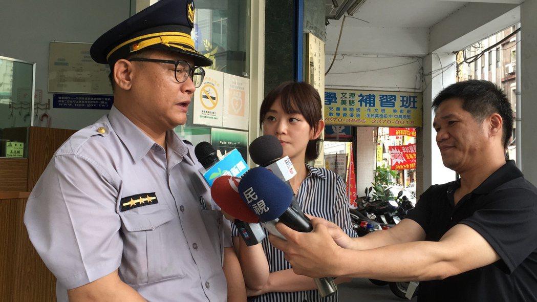 萬華警分局警備隊警員張景義。聯合報系資料照片/記者許家瑜攝影