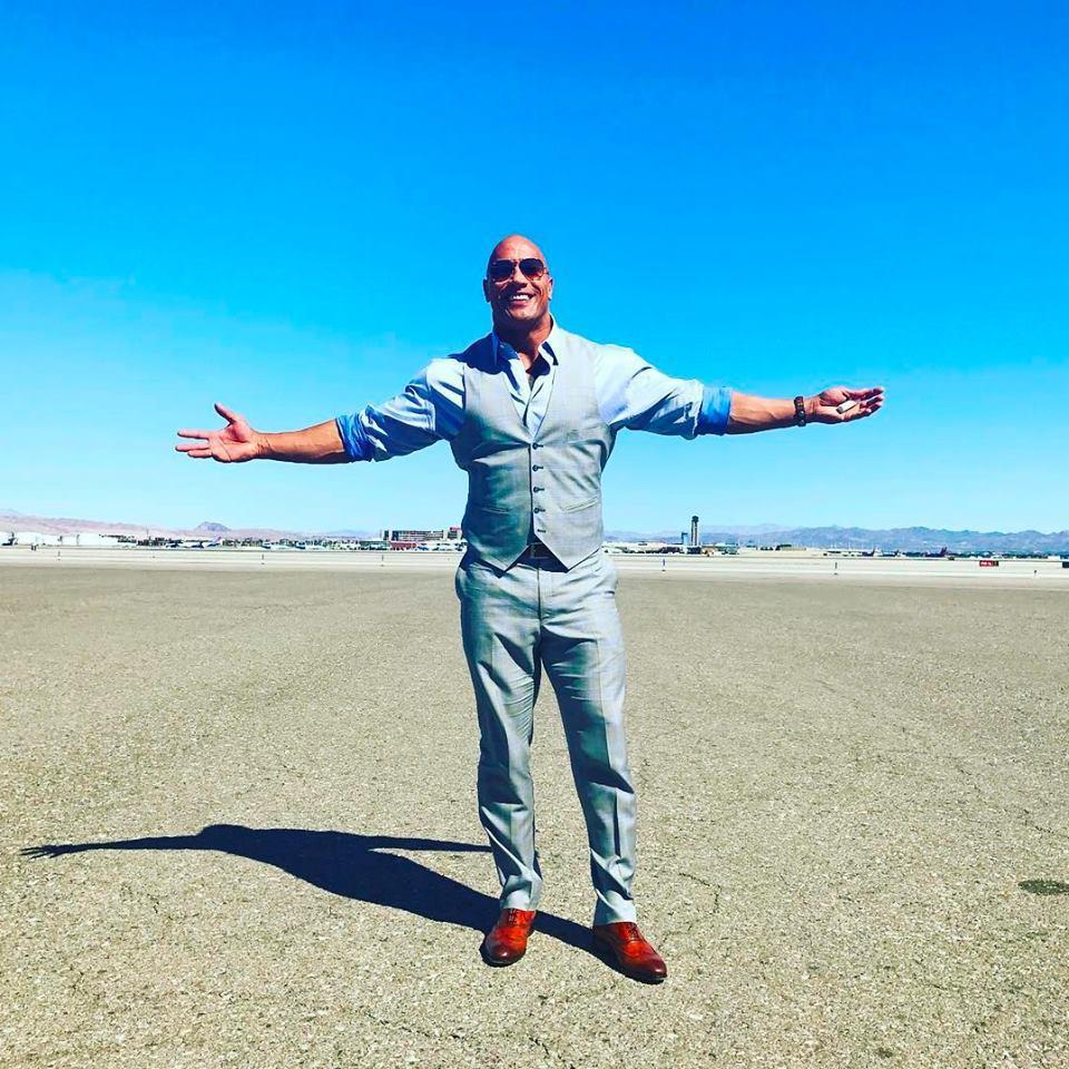 外電報導,身材壯碩的動作巨星巨石強森,日前在接受訪問時,親口承認他很想參選美國總