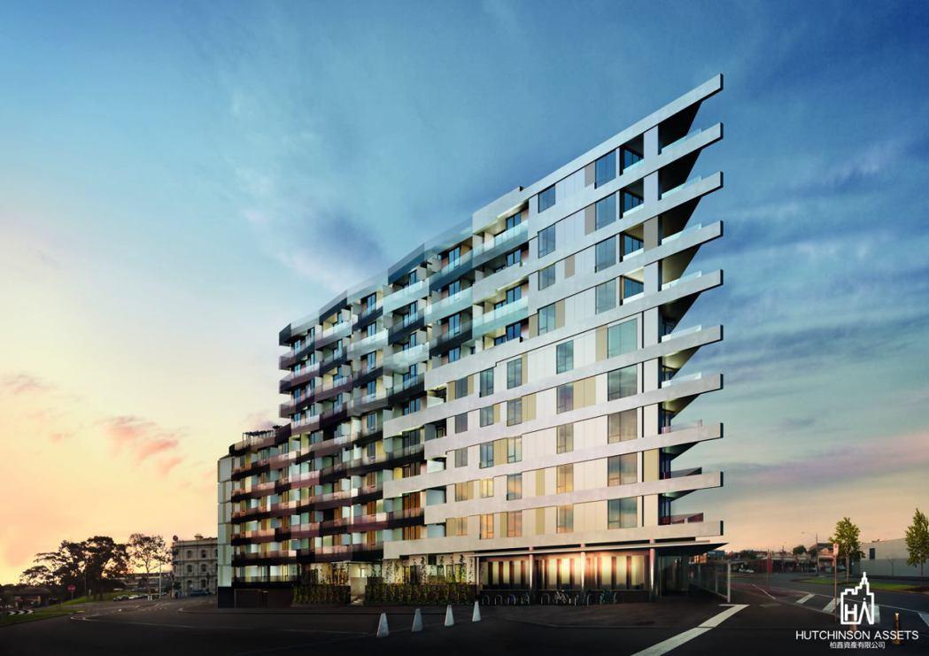柏鑫資產代理墨爾本VOLAIRE奢華景觀公寓。  柏鑫資產/提供