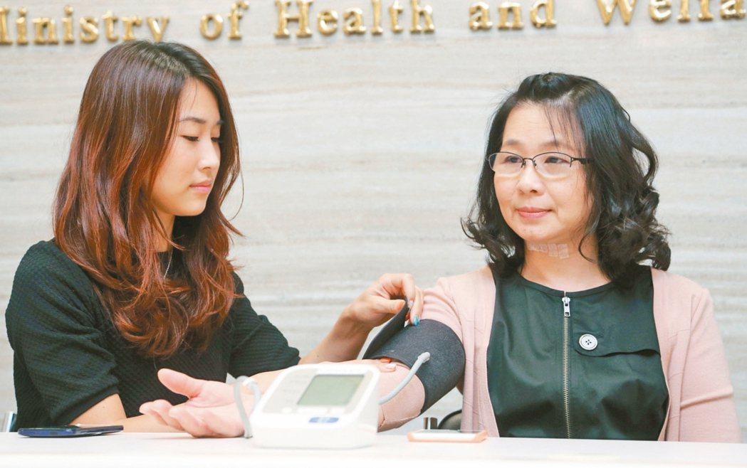 高血壓通常沒有症狀,衛福部統計顯示,台灣成人的高血壓盛行率達24.7%,平均每4...