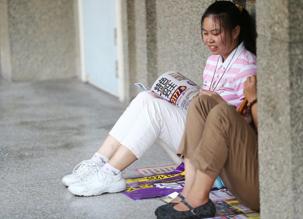 圖為特色招生考試。聯合報系資料照/記者陳柏亨攝影