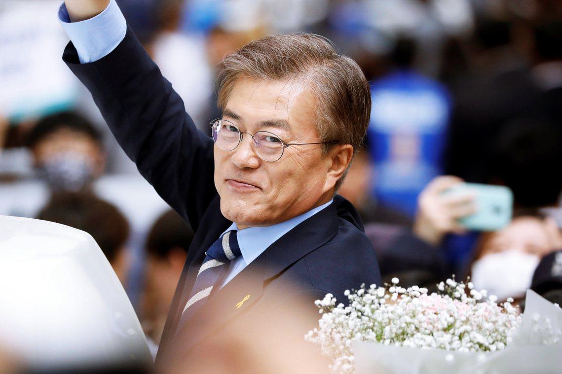 文在寅,大韓民國第19任總統就任! 圖/路透社