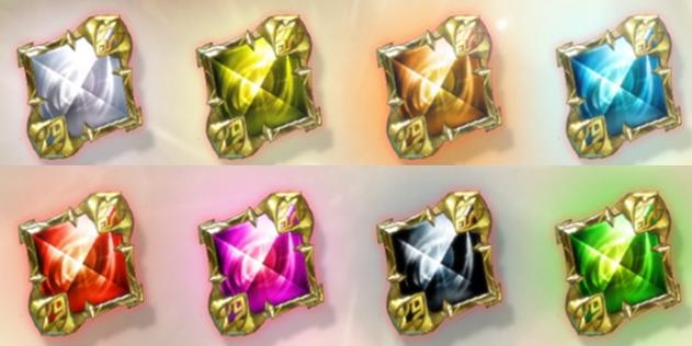 新增8種發光的魔石。