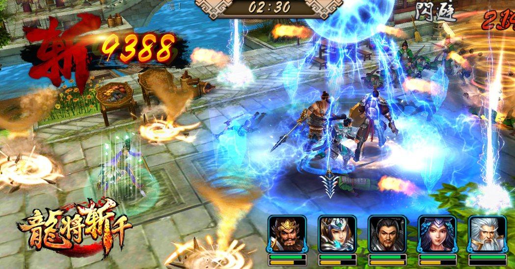 《龍將斬千》採用了全新動作模組。