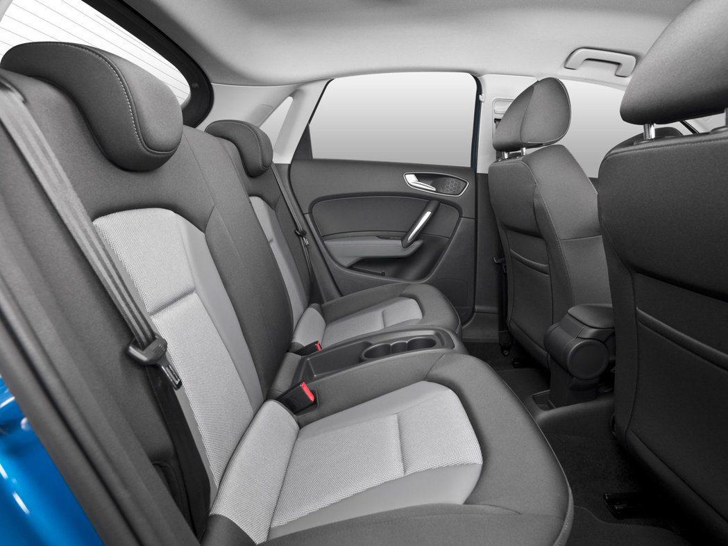 Audi A1 Sportback。圖為國外車型,與國內配備有些許差異。圖/Au...