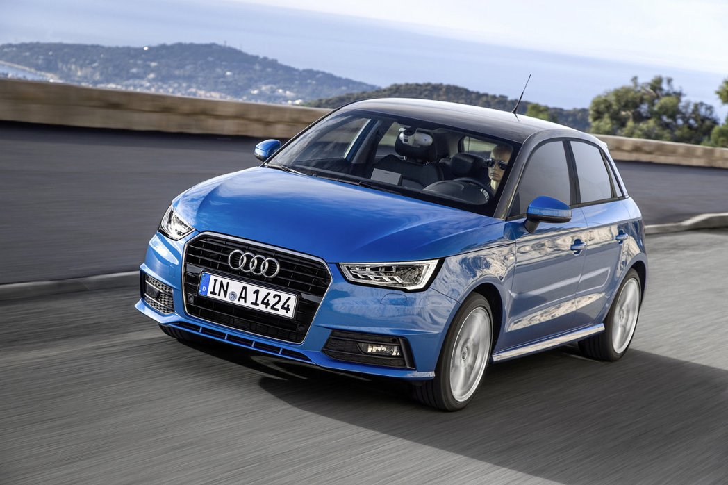 Audi A1 Sportback。圖為國外車型,與國內配備有些許差異。圖/Audi提供