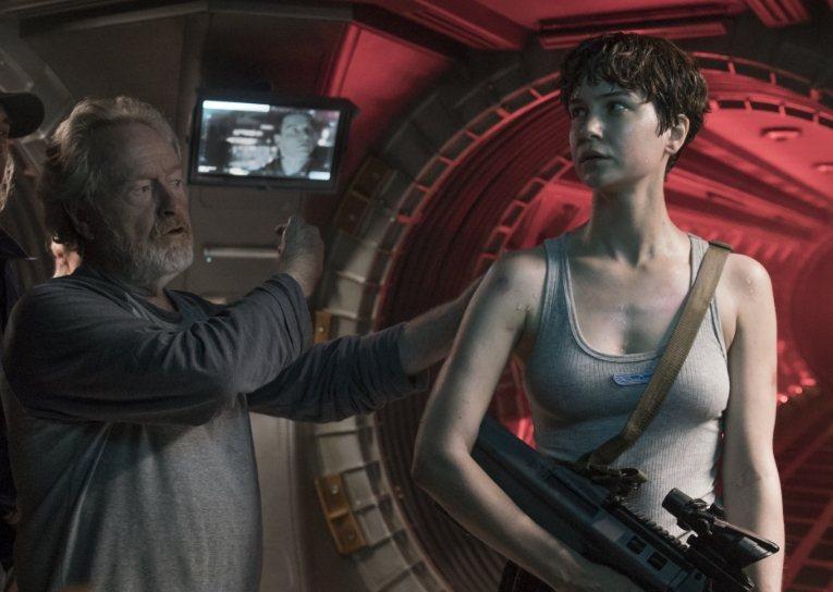 「異形:聖約」將這個科幻恐怖傳奇電影繼續拍攝下去。圖/福斯提供