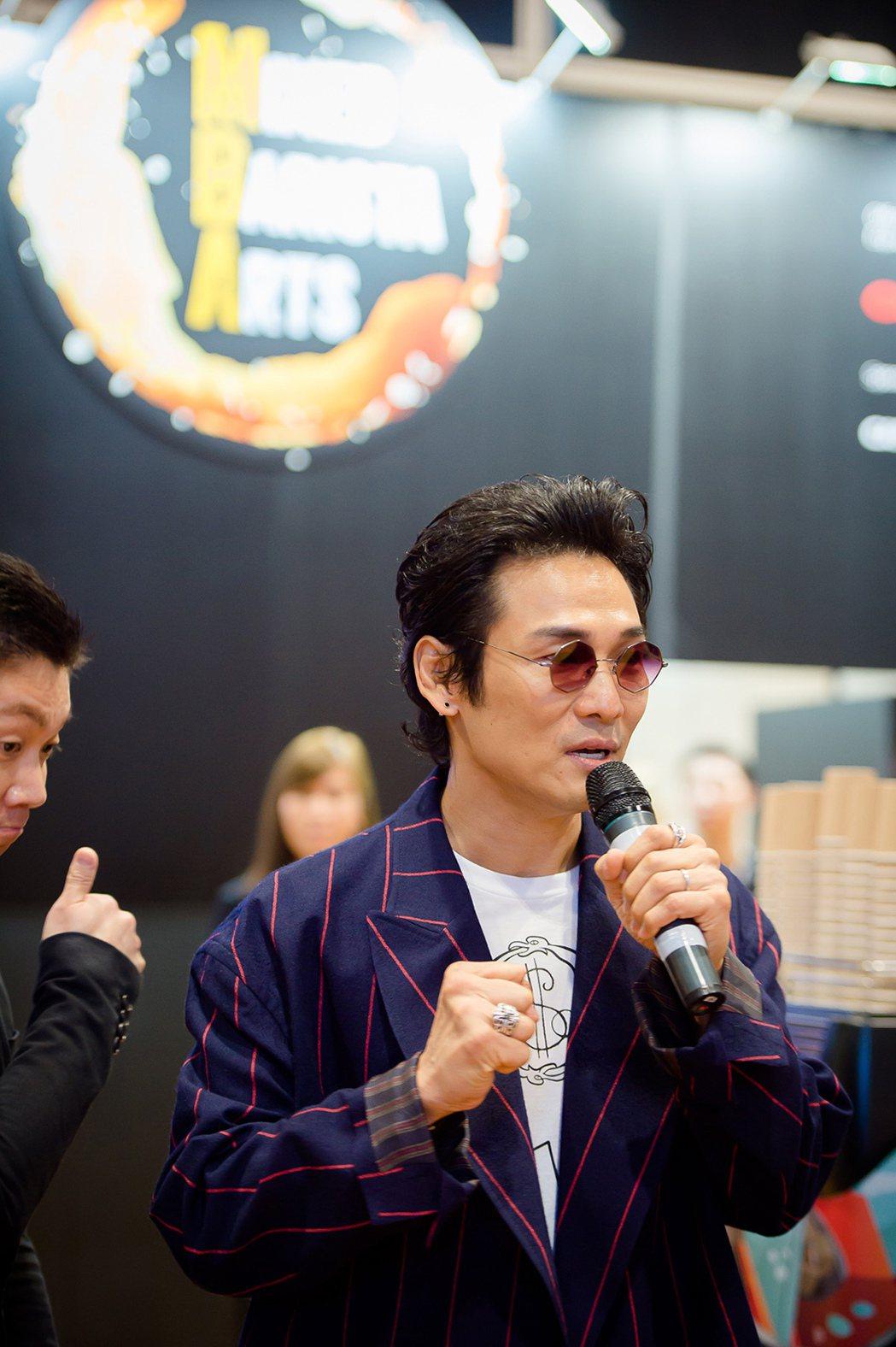 杜德偉受邀擔任咖啡師大賽評審。圖/杜德偉工作室提供