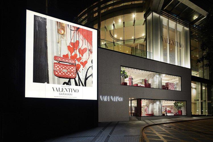Valentino香港利園全新旗艦店。圖/Valentino提供