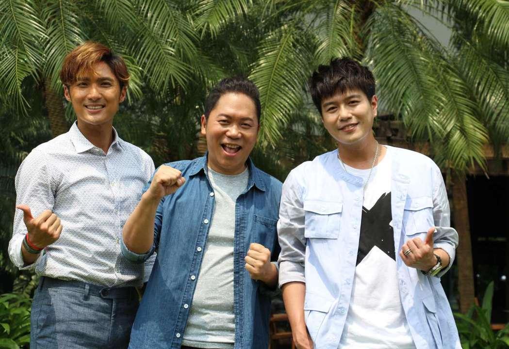 李運慶(左起)、卜學亮、李易扛下三立行腳節目。圖/三立電視台提供