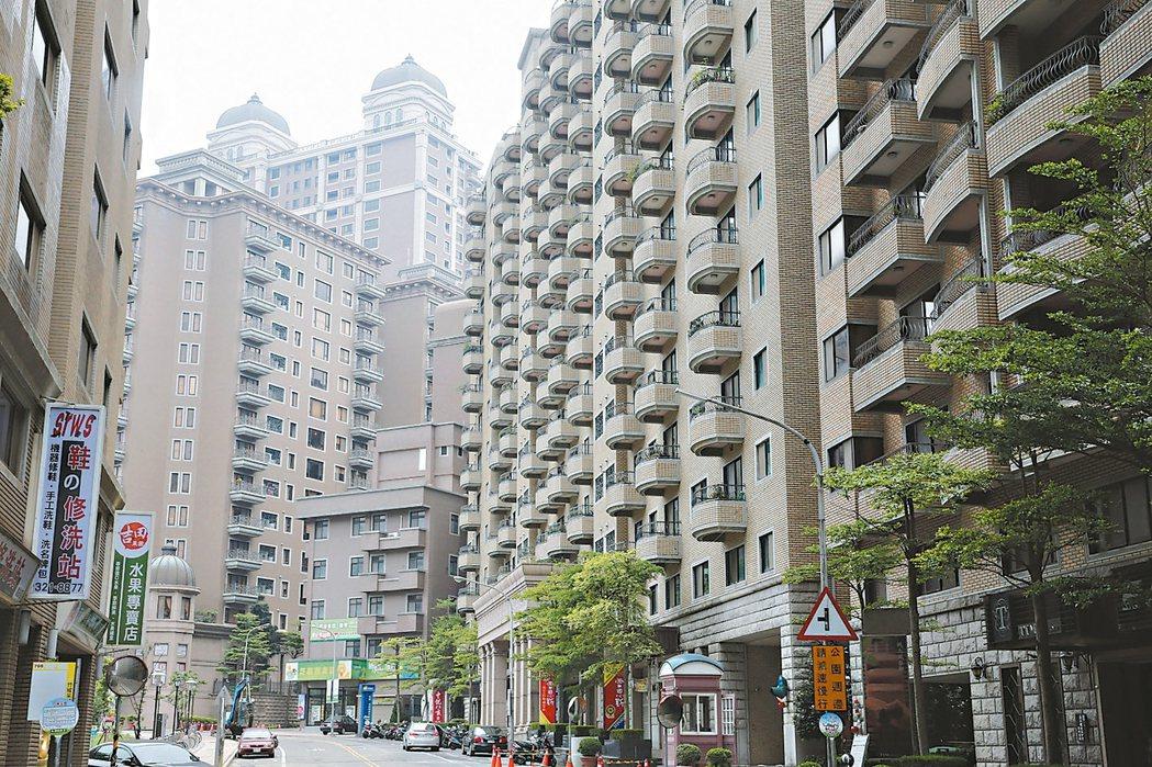 桃園市蘆竹區吉林路與吉林路156巷交叉口街景。 記者鄭超文/攝影