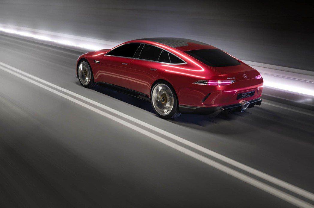 Mercedes-AMG GT concept。圖/Mercedes-Benz提...