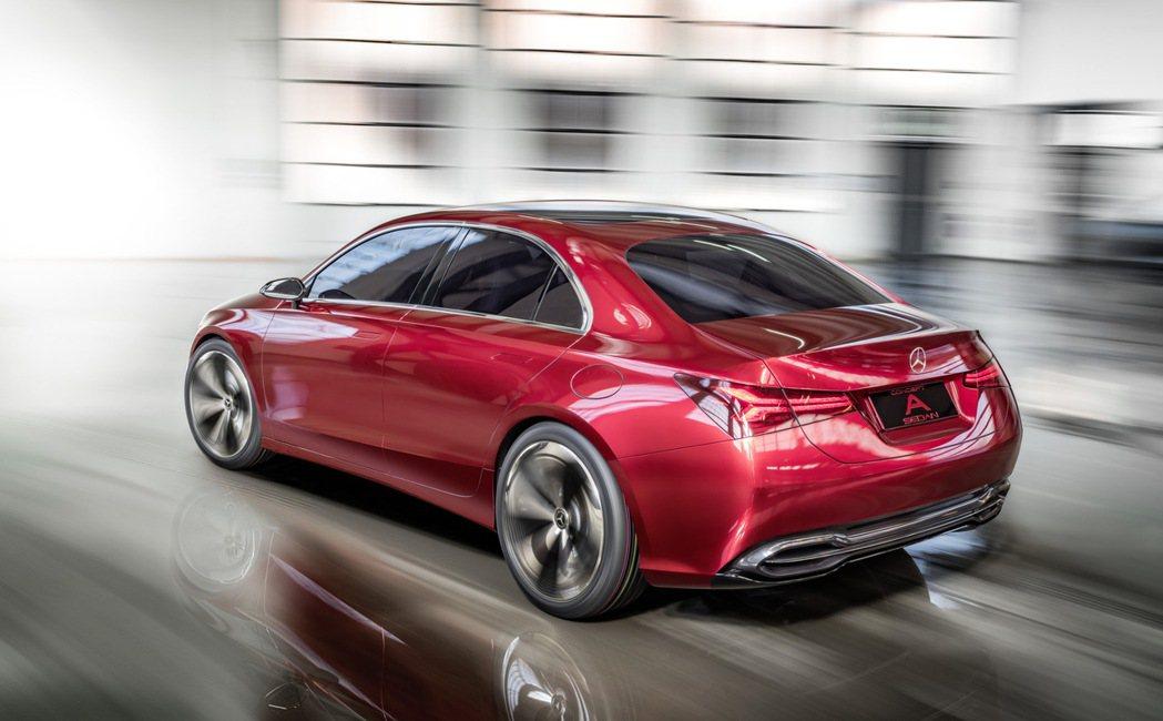 A Class Concept。圖/Mercedes-Benz提供