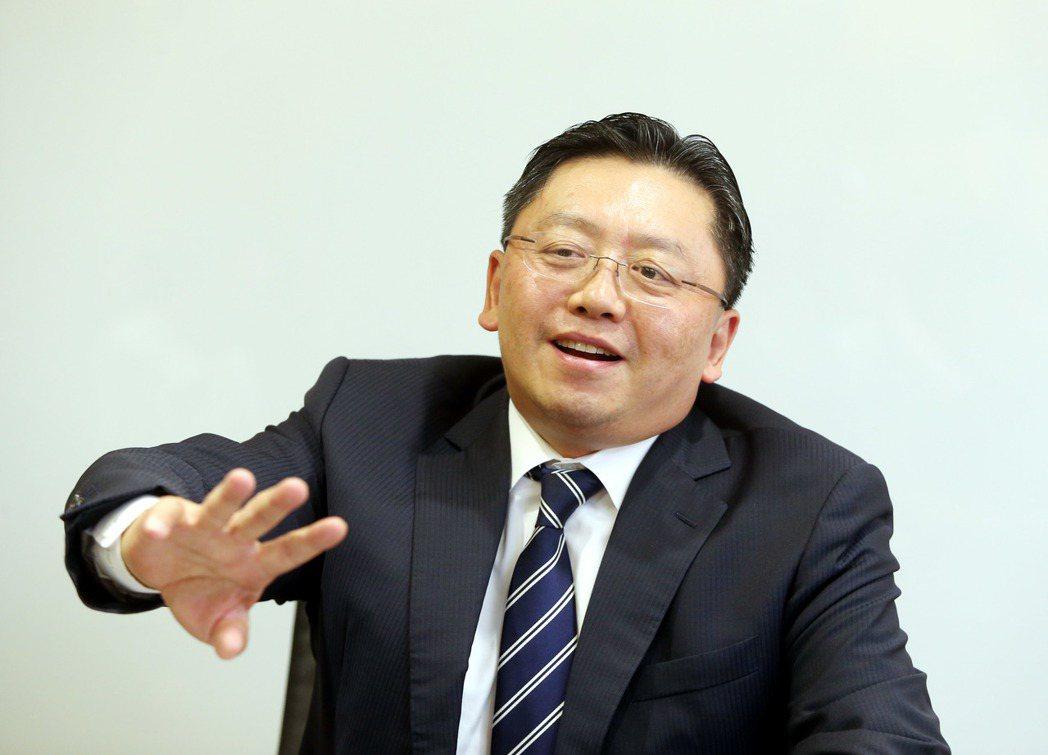 和泰汽車總經理蘇純興。 記者邱德祥/攝影