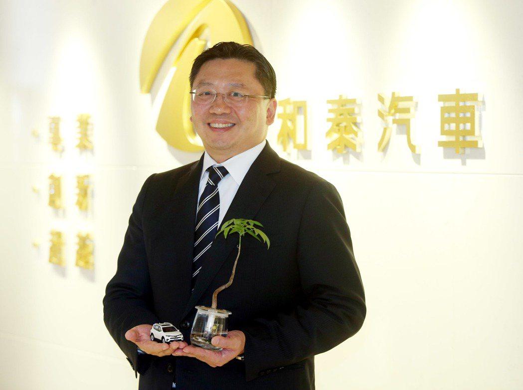 和泰汽車總經理蘇純興。記者邱德祥/攝影 邱德祥