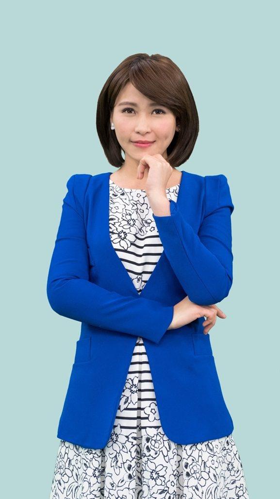 邵鈺敏直擊南韓總統大選。圖/中天電視台提供