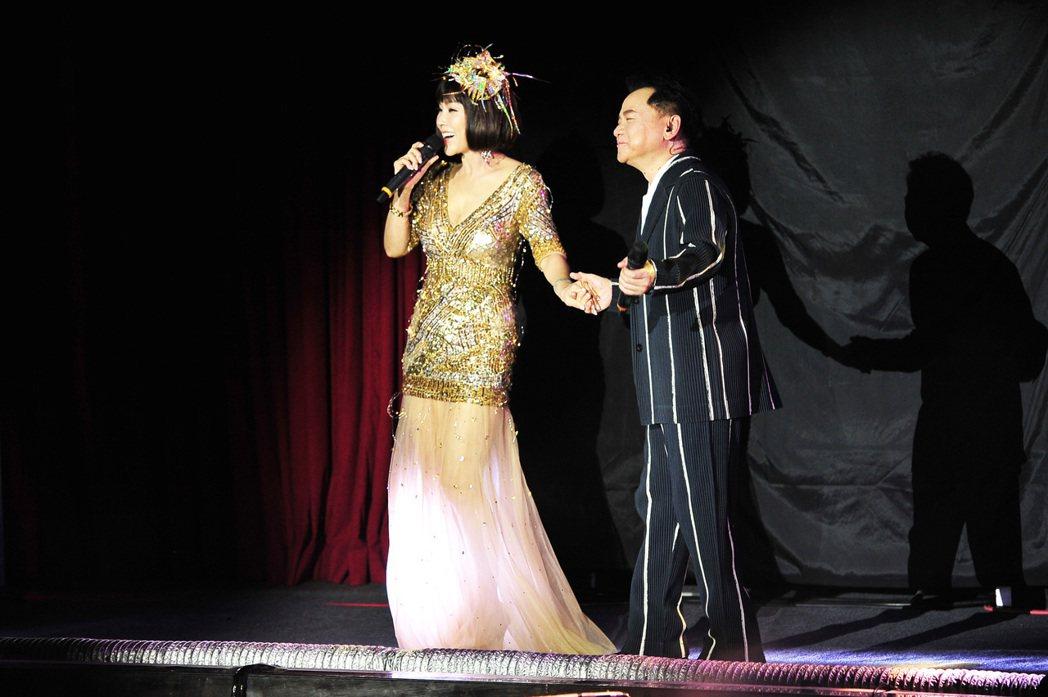 葉啟田演唱會請來陳美鳳合唱。圖/順大傳播提供