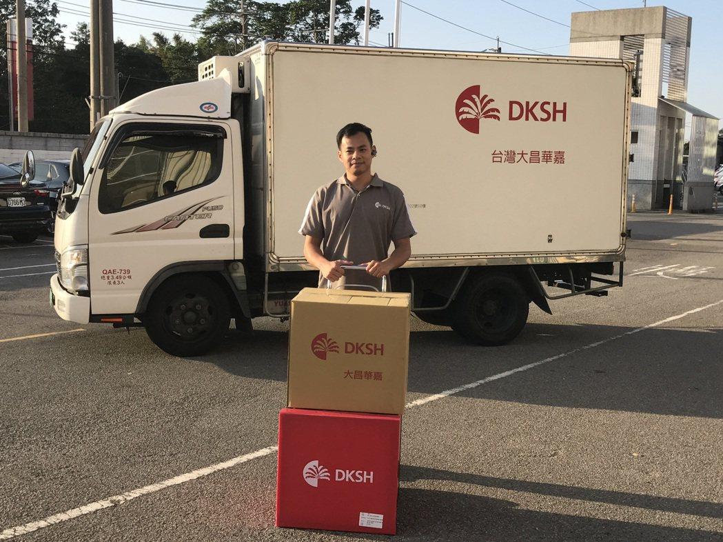 大昌華嘉成立「救命小組」,是台灣目前唯一24小時待命的醫療器材物流公司。 圖/大...
