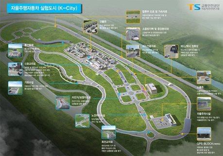 亞洲創舉 南韓建造整座城市來測試自動駕駛車