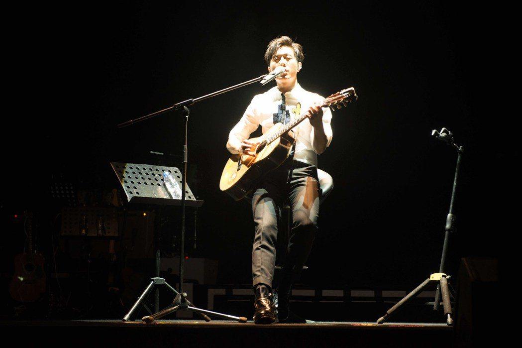 韋禮安「放開那女孩」巡迴演唱會首場廣州站。圖/福茂提供