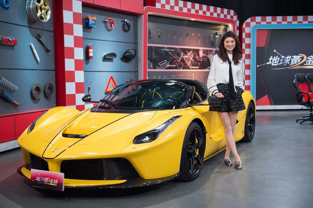 蘇宗怡和價值連城的名車「馬王」。圖/TVBS提供