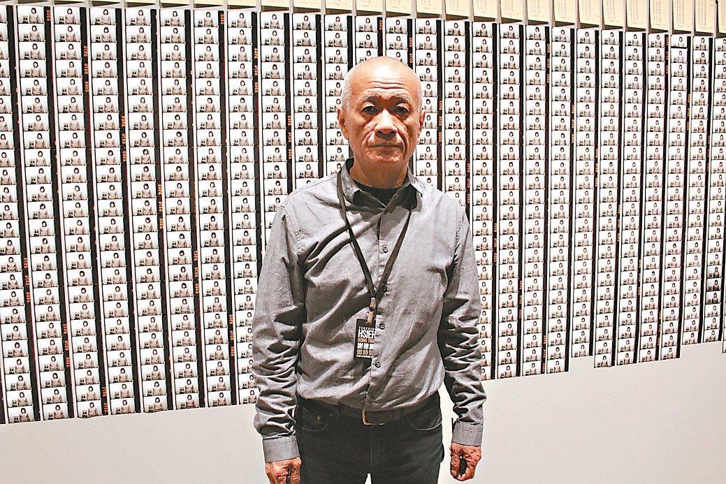 謝德慶是世界最知名的行為藝術家。 記者陳宛茜/攝影