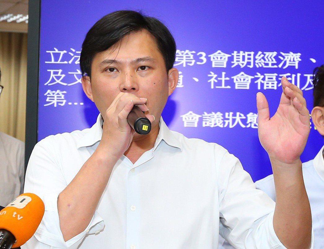 時代力量立委黃國昌。 記者王騰毅/攝影