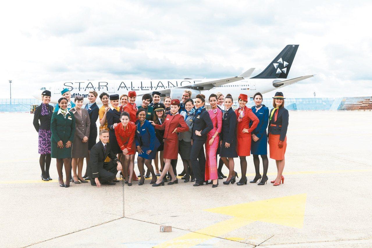 星空航空聯盟(Star Alliance)包括長榮航空在內的28家會員,於德國時...