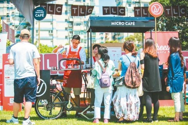 Wheelys Café去年曾參加TLC野餐日活動。