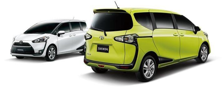 TOYOTA SIENTA 1.5L 無敵超值版。 和泰汽車提供