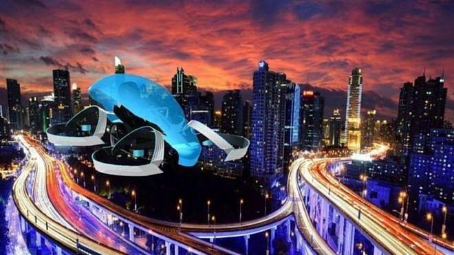 CARTIVATOR所開發中的小型飛行汽車「Skydrive」。 CARTIVATOR提供