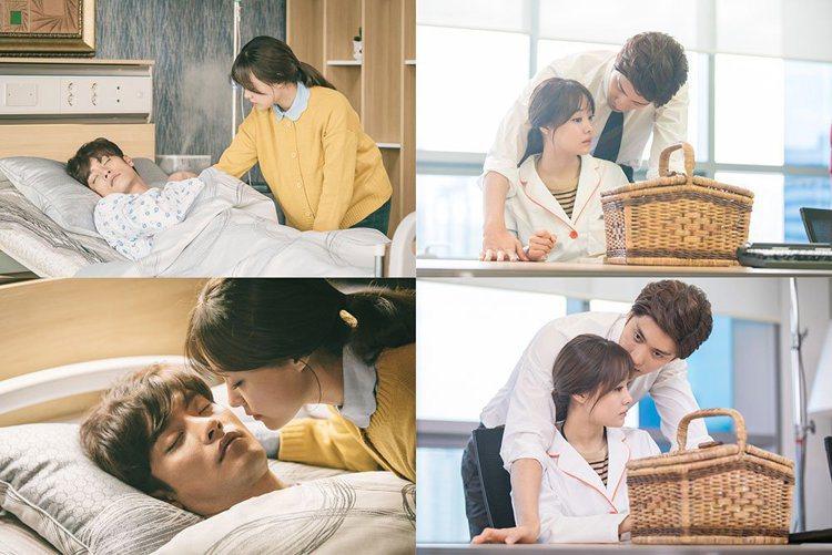 由韓國演員成勛、Secret主唱宋枝恩合演的浪漫愛情喜劇《焦急的羅曼史》。圖/O...