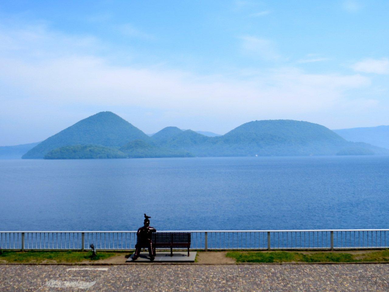 日本北海道的度假聖地:洞爺湖。圖/鄭順聰提供