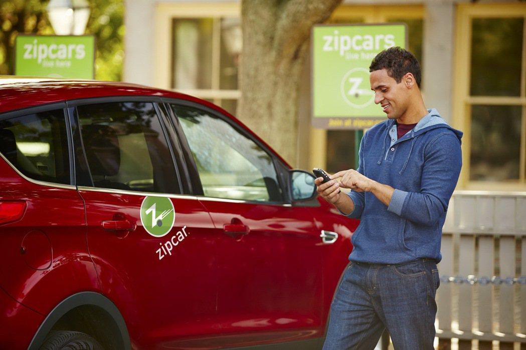 開車不必養車,Zipcar台北共享即將上路。 圖/Zipcar提供