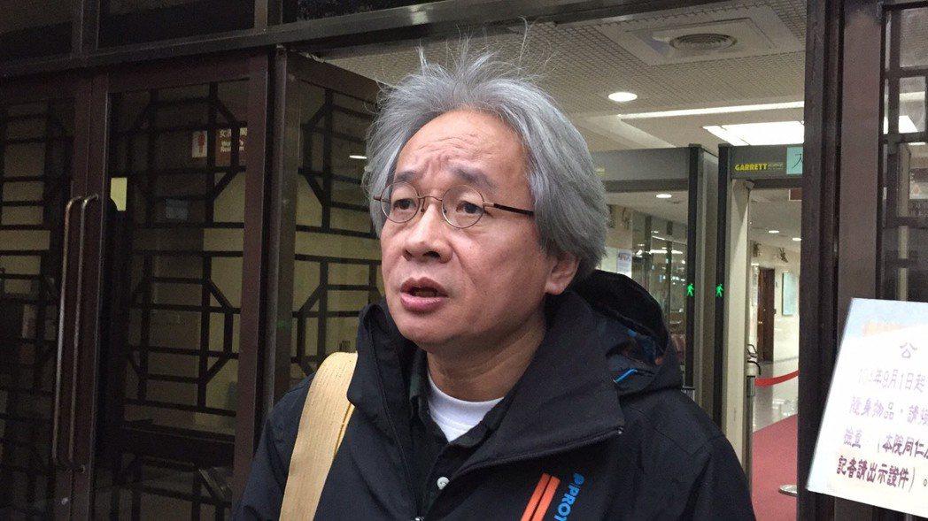 馮光遠宣布退黨,批時代力量變成國運昌隆黨。 圖/報系資料照