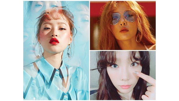 圖/PONY、太妍、Hani、李聖經、泫雅instagram;PONY EFFE...