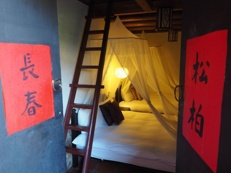 古色古香民宿在住宿環境上也非常用心,不用擔心因為老厝而有使用上的不方便(攝影/黃...
