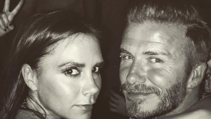 貝克漢(右)與維多莉亞(左)相戀20年,感情甜蜜。圖/摘自IG