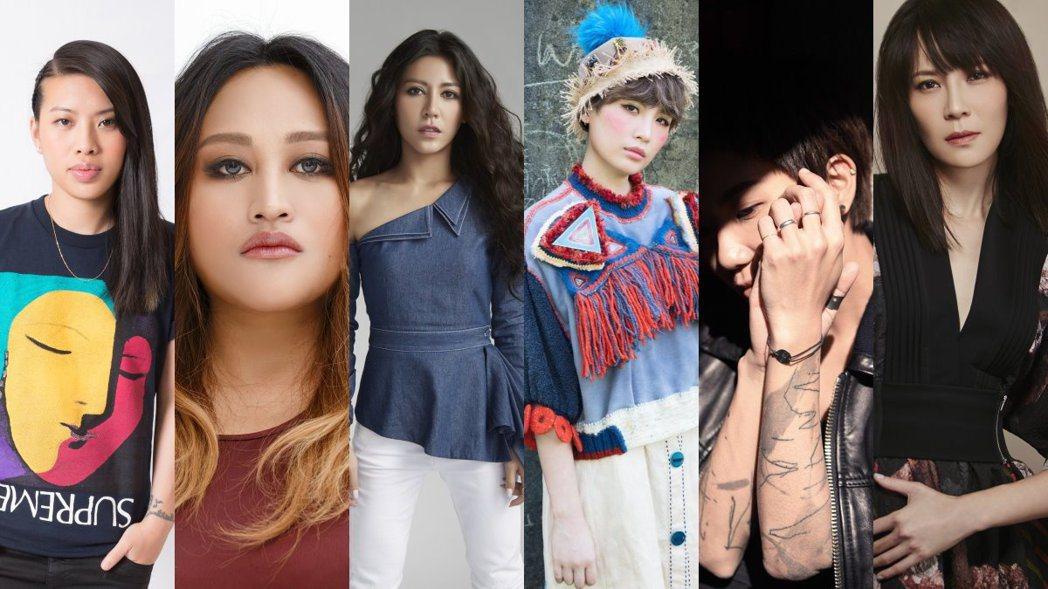 圖/環球音樂、相信音樂、hito FM、好多音樂、頤創藝、亞神提供