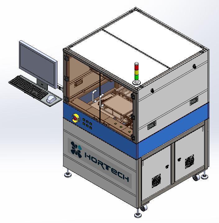 京碼公司新開發的雷射焊接設備圖示。 京碼公司/提供