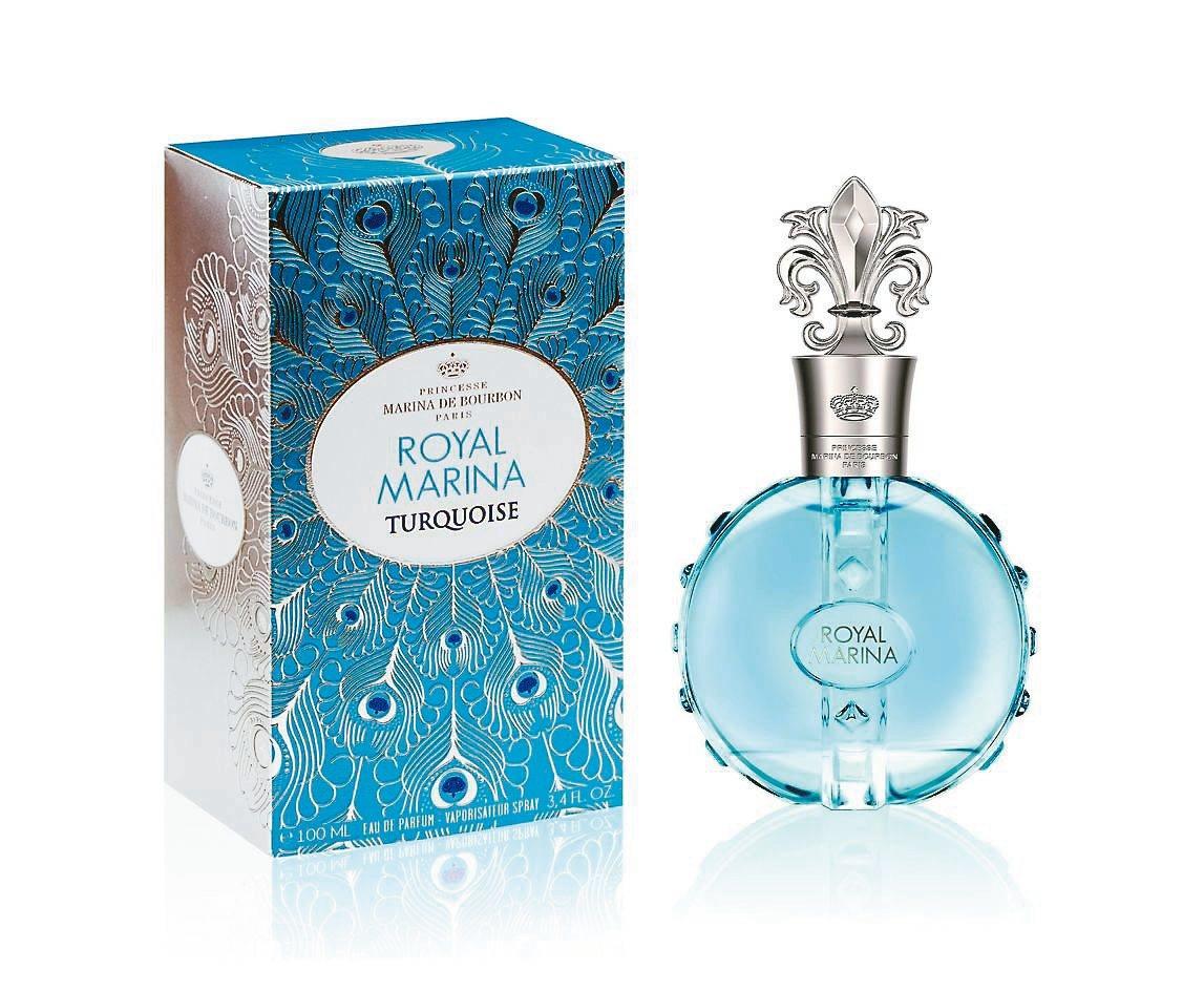 Marina de Bourbon皇家璀璨藍寶石淡香精/「友情萬歲」代表香氛/30ml、1900元