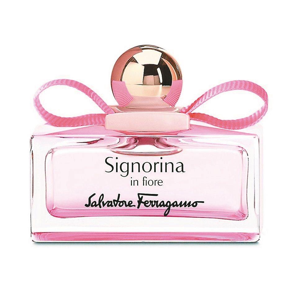 Salvatore Ferragamo花漾伊人女性淡香水「甜蜜初戀」代表香氛30ml、2250元