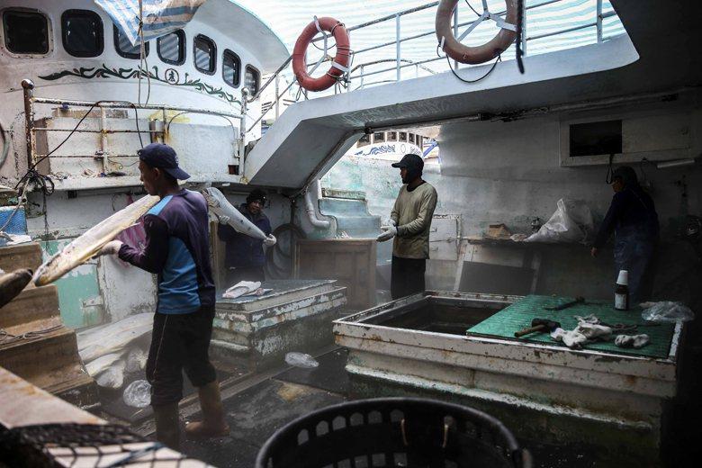 境外聘僱漁工,因為不適用國內勞基法,所以勞動部就不管,讓漁政單位自行處理。問題是...
