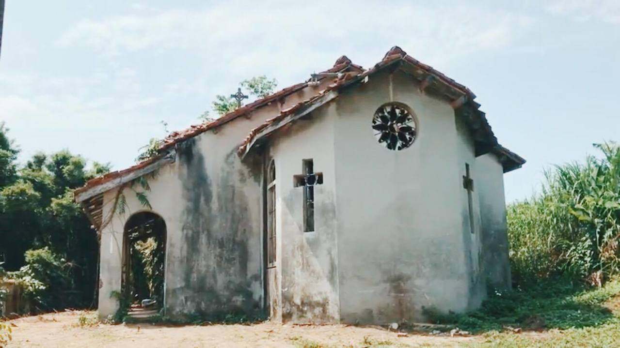 十二寮天主堂。圖/達拉提供