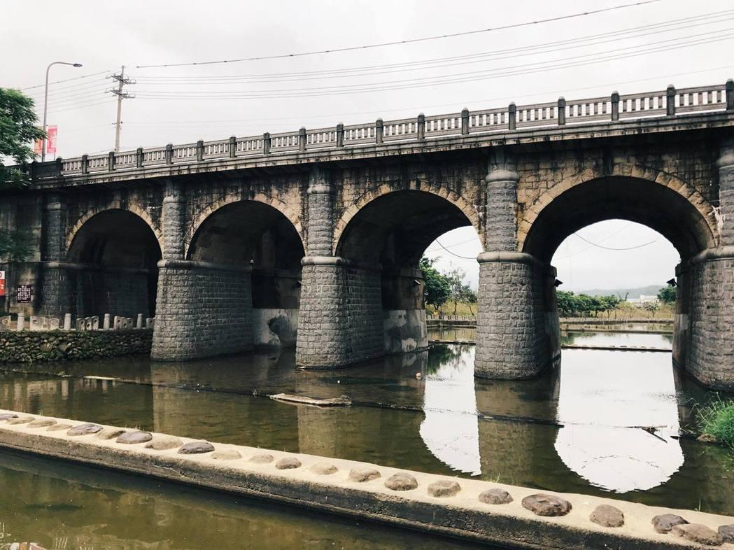 東安古橋。圖/達拉提供