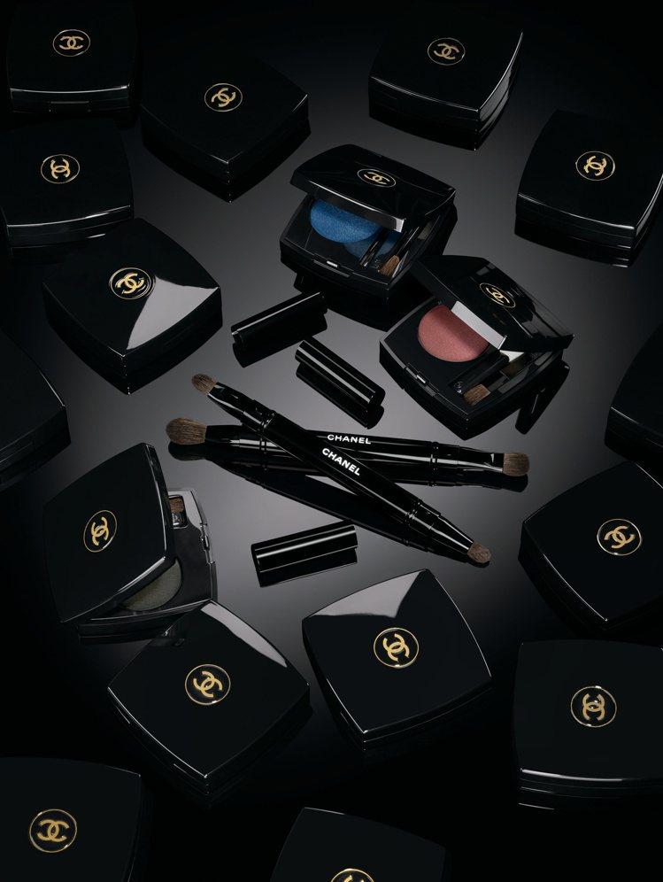 香奈兒眼妝全新系列產品情境圖。圖/香奈兒提供