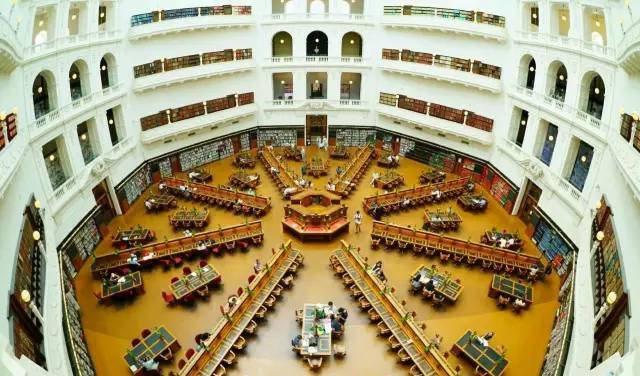 維多利亞州立圖書館。圖/澳洲維多利亞州旅遊局提供