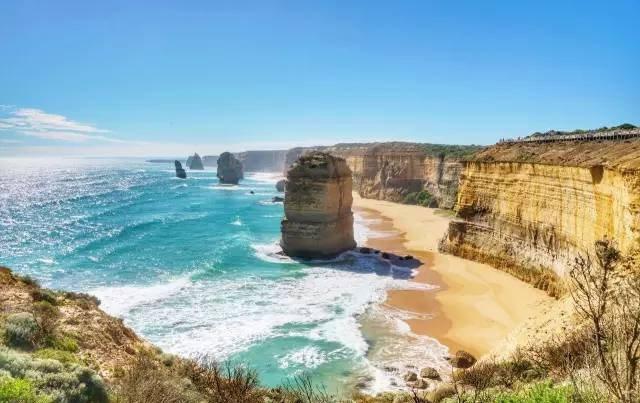 大洋路十二門徒岩。圖/澳洲維多利亞州旅遊局提供